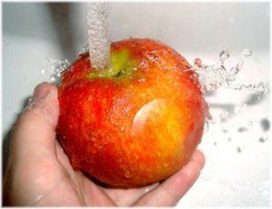 Дезинфекация мертвой водой